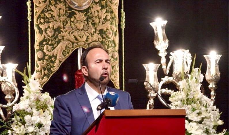 Emotivo Pregón Rociero ofrecido por Antonio Noja en Bonares.