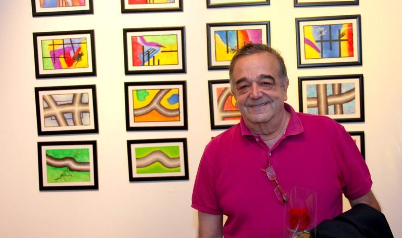 Antonio Fortes expone su obra en Triki café-bar.
