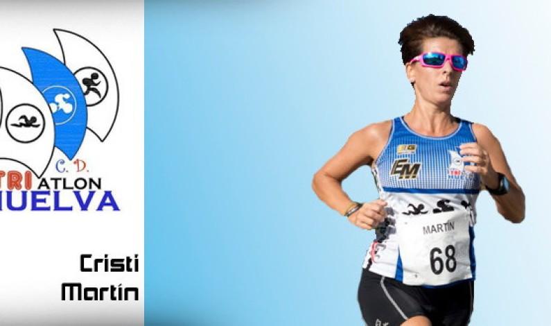 Entrevista a Cristi Martín una bonariega apasionada del triatlón.
