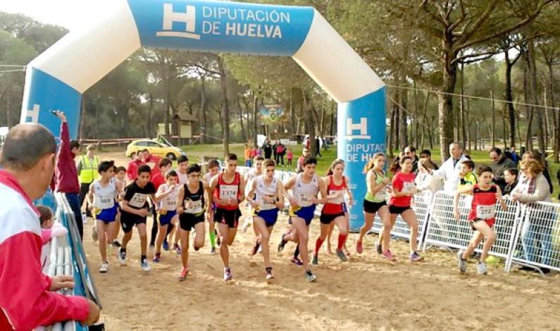 Más de 500 corredores disputan el XXII Cross de 'El Corchito' en Bonares.