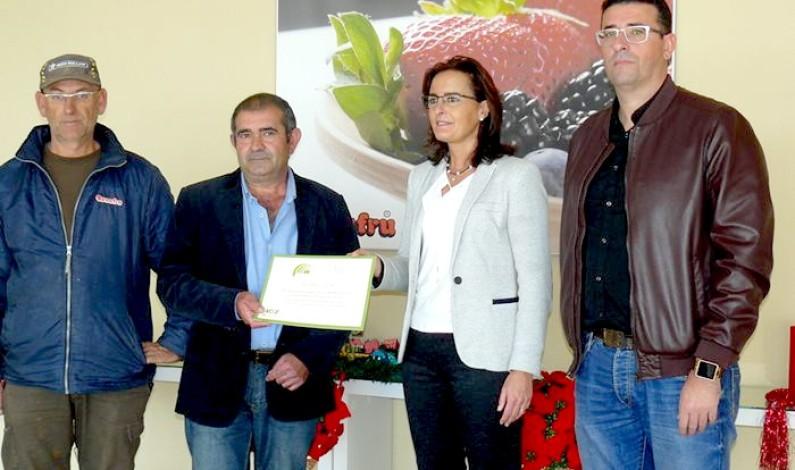 Bonafru premiada por su labor en el reciclaje de envases de fitosanitarios.