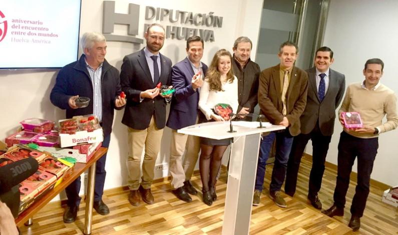Los frutos rojos de la provincia de Huelva vuelven a brillar en Berlín.