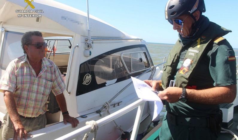Comienza la Campaña de control de embarcaciones recreativas y motos náuticas por la Guardia Civil.