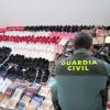 intervenidas 218 prendas falsificadas en Matalascañas y Mazagón valoradas en 11.880 €.