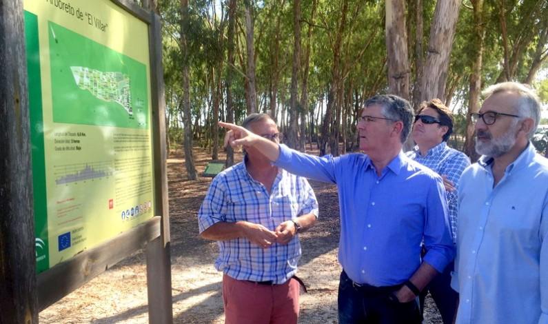 Se retoman las labores de mantenimiento en el Arboreto de El Villar.