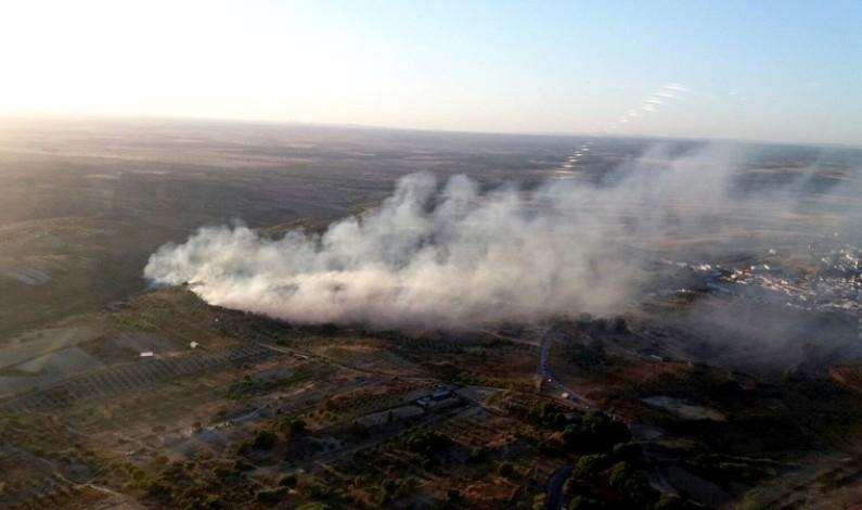 El Infoca da por controlado el incendio forestal declarado en Bonares.