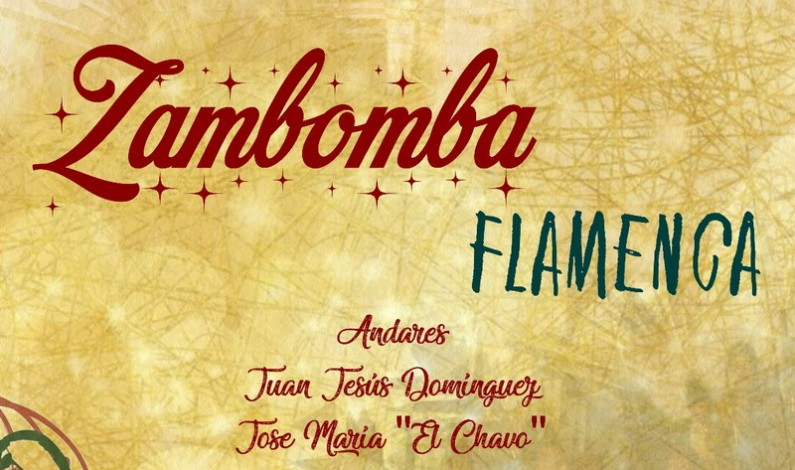 Zambomba Flamenca en la Plaza de España.