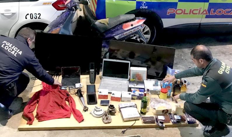 Desarticulada en la Palma del Condado una organización delictiva dedicada al robo.