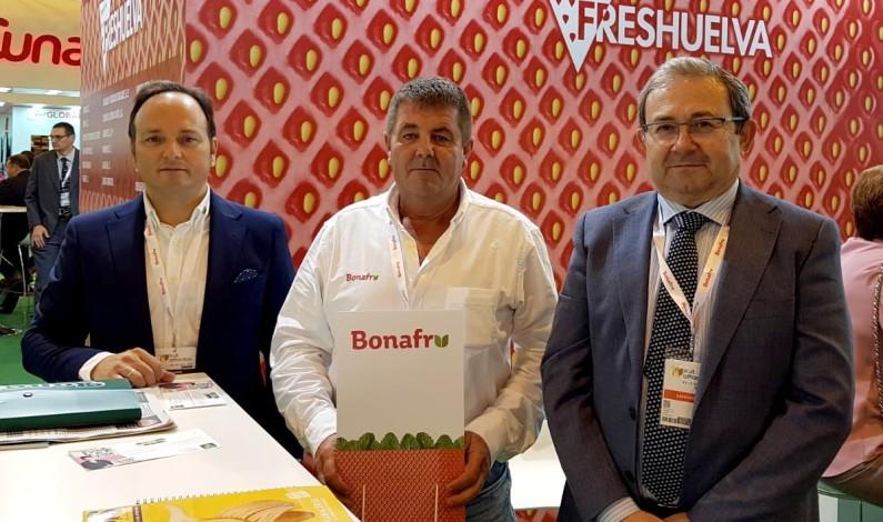 Bonafru muestra su potencial en Fruit Attraction.