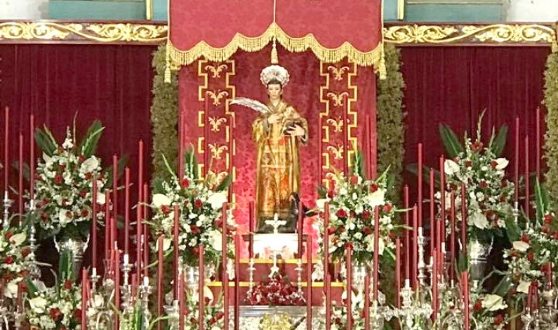 Fiestas de San Vicente de Lucena del Puerto, del 21 al 26 de enero.