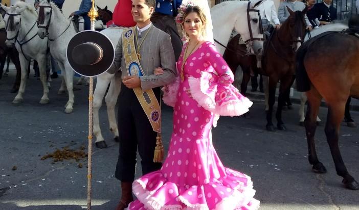 Salida del Romerito de la Cruz de la Calle El Pozo.