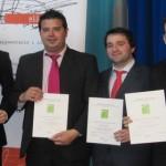 El grupo Espérides primer Premio Trophelia