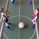 1º Campeonato de futbolín organizado por el Bar El Polvero.