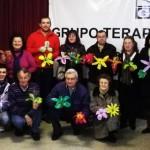 """El Grupo terapéutico Local, realiza el taller """"Proyecto Nido""""."""