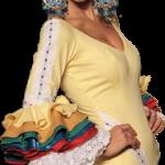 Desfile de moda flamenca a beneficio de la Hermandad de Nazarenos.