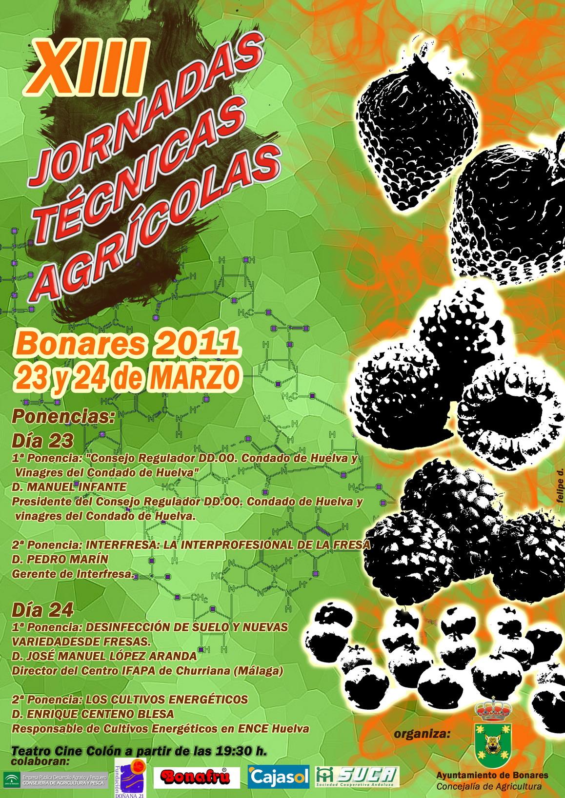 XIII Jornadas técnicas Agricolas 2011