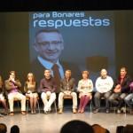 Presentación oficial de la candidatura del PSOE para las municipales del 22 de Mayo.