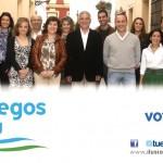 """Nota del PP-Bonares """"Vota a Pedro"""" último eslogan de campaña."""