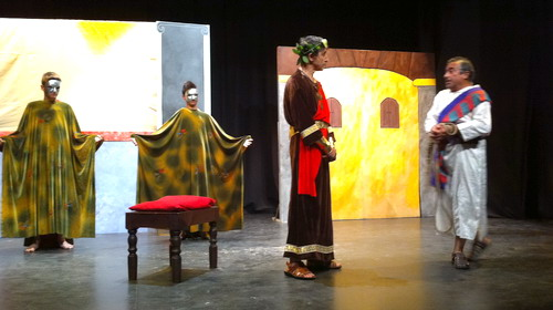 """""""taller de teatro Junco y Romero, Bonares"""""""