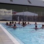 Éxito del curso de relajación y movimientos acuáticos.