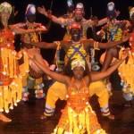 Danza africana el domingo en la Plaza de España.