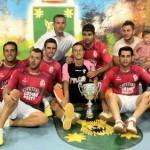 Codigo Postal se proclama Campeón en el XIII Campeonato de fútbol sala.