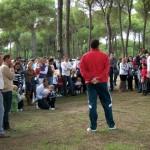Día del árbol en Bonares.