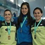 Paqui Limón bronce en el Campeonato Andaluz absoluto.