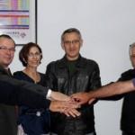 Coopinte firma un convenio con Farmacia Garrido Marín.