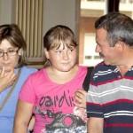 Emotivo encuentro de los niños bielorrusos con las familias guardadoras de Bonares.