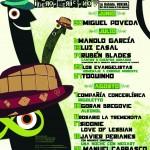 Programación de las Noches del Foro Iberoamericano de la Rabida 2012.