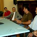 El Presidente de Diputación respalda sin fisuras las reivindicaciones de la plataforma en defensa de los riegos del Condado.