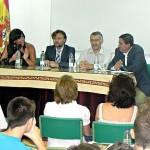 Apertura oficial del curso por parte del delegado del Gobierno en el instituto de Bonares.