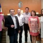El alcalde de Almonte se reúne con el PP de Bonares para informar de las posibilidades del Año Jubilar