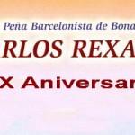 """La Peña Barcelonista de Bonares """"Carlos Rexach"""" celebra su XX Aniversario."""