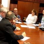 Santiago Ponce lleva las reivindicaciones de los agricultores onubenses al Parlamento Andaluz.