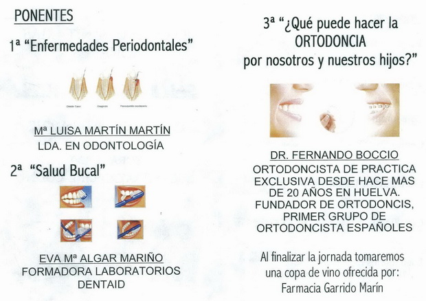 """jornadas sanitarias Bonares"""