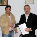 Colaboración entre Coopinte Bonares con empresarios locales.