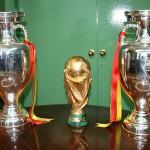 La Copa del Mundo y las dos Eurocopas visitan Bonares.