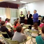 Comienzan las clases de Seguridad Vial en el instituto impartidas por la Policía Local de Bonares.