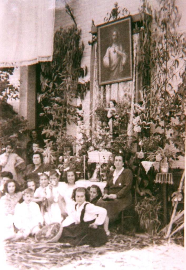 Día de Corpus años 40