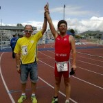 Dos bonariegos participan en el Campeonato de España de Duatlón que se celebra  en Pontevedra.