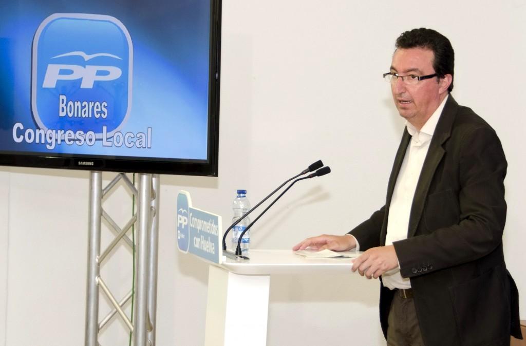 El Presidente del PP de Huelva, Manuel Andrés González, anima a todo el PP de Bonares a seguir trabajando por y para todos sus ciudadanos.