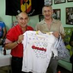 La Peña Madridista celebra su XX aniversario con una paella.