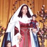 """La Santa y las Fiestas Judías,"""" Desde Galilea""""."""