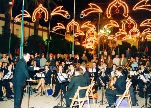 La música siempre presente en la Plaza.