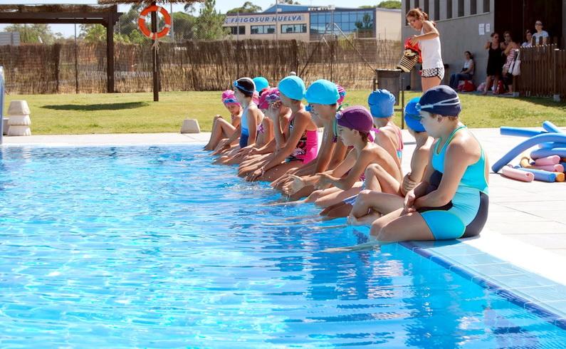 curso natación infantil