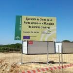 Comienzan las obras del punto limpio de Bonares.