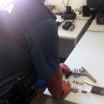 Detenido en Bonares un traficante de drogas que iba armado con un revólver.