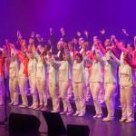 Concierto de la Coral francesa Viva Voce en el teatro Cine Colón.